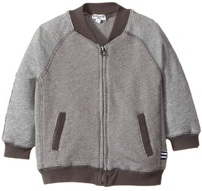 Splendid Littles Birdseye Knit Zip-Up Jacket (Infant)