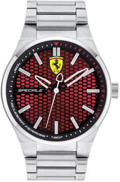 Ferrari Men's Speciale 3H Stainless Steel Bracelet Watch 44mm 0830357