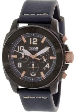 Fossil Machine FS5066 Black Dial Watch