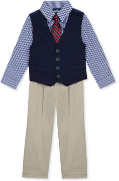 Nautica 4-Piece Vested Twill Suit Set, Baby Boys (0-24 months)