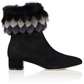 Manolo Blahnik Women's Insofur Suede Ankle Boots