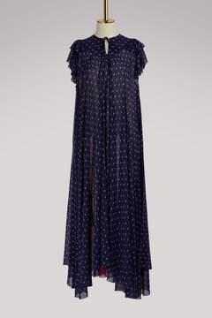 Balenciaga Short-sleeved long dress
