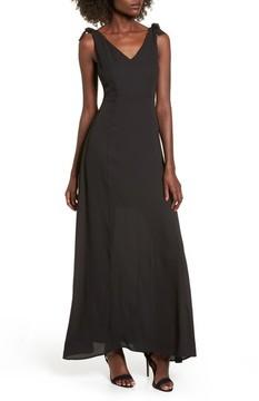 Dee Elly Women's Tie Strap Maxi Dress