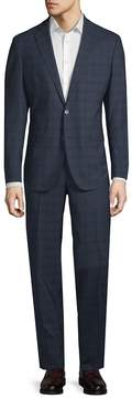 Cole Haan Men's Grand OS Windowpane Suit