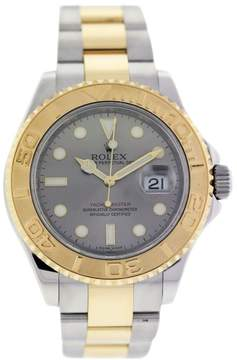 Rolex Yachtmaster 16623 18K Yellow Gold and Stainless Steel 40mm Mens Watch