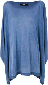 Diesel draped blouse