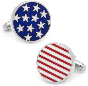 Ice Stars and Stripes American Flag Cufflinks
