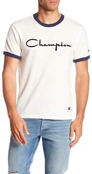 Champion Heritage Ringer Crew Neck Tee