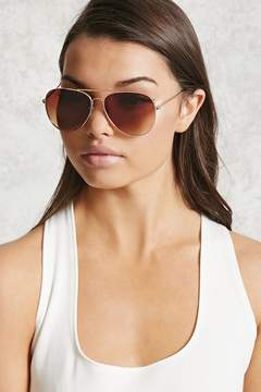 FOREVER 21 Gradient Aviator Sunglasses