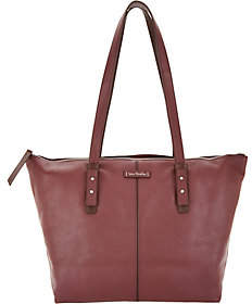 Vera Bradley Gallatin Leather Tote Handbag