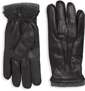 Saks Fifth Avenue Men's Napa Leather Gloves