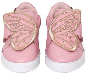 Sophia Webster Bibi Mini Leather Sneakers