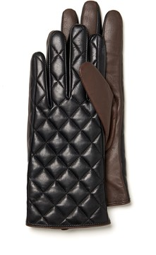 J.Mclaughlin Lale Quilted Leather Gloves