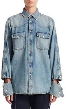 Valentino Vintage Wash Denim Shirt