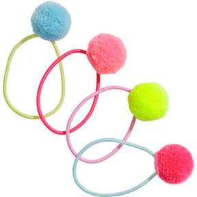 H&M 4-pack Hair Elastics - Pink