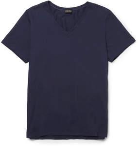 Hanro Superior Mercerised Stretch-Cotton T-Shirt