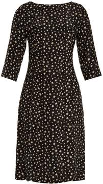 DAY Birger et Mikkelsen HVN Clara star-print silk dress