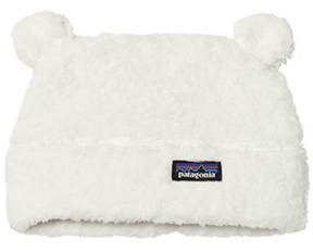 Patagonia Baby Furry Friends Hat Birch White