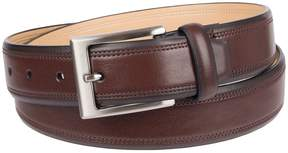 Croft & Barrow Men's Double-Row Stitch Belt