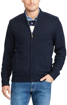 Chaps Men's Classic-Fit Baseball Sweater Jacket