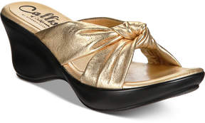 Callisto Knoxx Wedge Sandals, Created for Macy's Women's Shoes