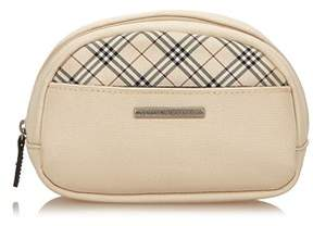 Burberry Pre-owned: Nylon Pouch. - BROWN X BEIGE X MULTI - STYLE