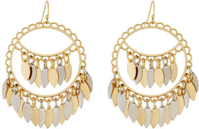 Fragments for Neiman Marcus Two-Tone Shakey Drop Earrings, Multi