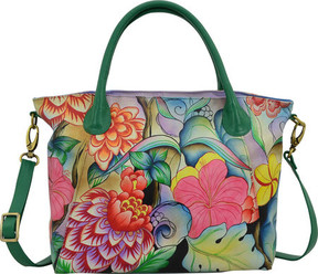 Anuschka Anna By ANNA by Hand Painted Slouch Tote Bag 8293 (Women's)