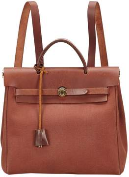 Hermes Herbag backpack - BROWN - STYLE