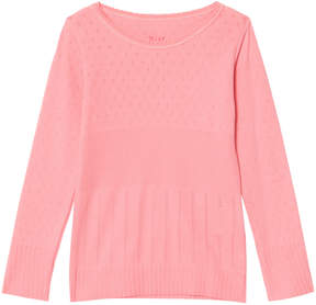 Mini A Ture Noa Noa Miniature Strawberry Pink Long Sleeve T-Shirt