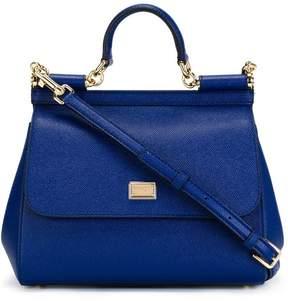Dolce & Gabbana medium Sicily shoulder bag - BLUE - STYLE
