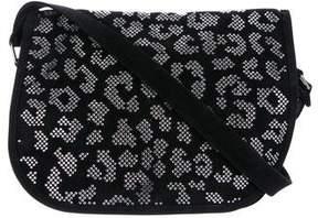Balmain Leo Swarovski-Embellished Crossbody Bag