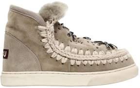 Mou 40mm Eskimo Embellished Shearling Boots