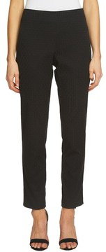 CeCe Women's Diamond Jacquard Pants