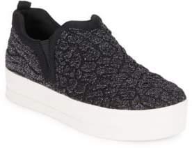 Ash Jane Glittered Slip-On Sneakers