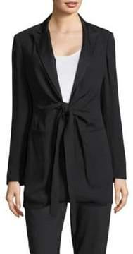 Donna Karan Self-Tie Blazer
