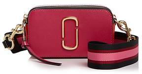 Marc Jacobs Snapshot Color Block Leather Camera Bag - HIBISCUS MULTI/GOLD - STYLE