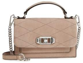Rebecca Minkoff Small Je T'aime Leather Crossbody Bag - BEIGE - STYLE