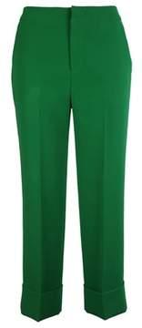 Pt01 Women's Cdvsshz00stdbt340450 Green Polyester Pants.