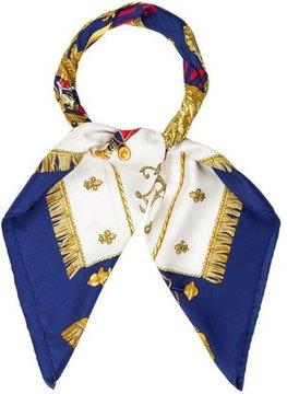 Hermes Vue Du Carrosse De La Galère Le Réale Silk Scarf