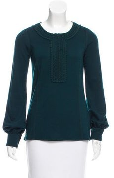 Andrew Gn Wool Embroidered Tunic w/ Tags