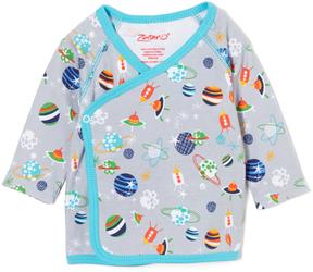 Zutano Gray Space Kiddet Kimono - Infant