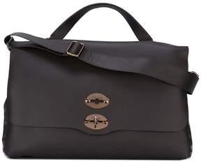 Zanellato flap closure tote bag