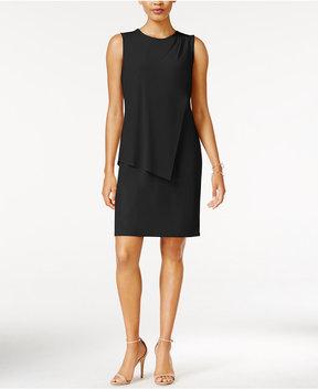 Bar III Draped Sheath Dress, Created for Macy's