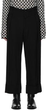 Ann Demeulemeester Black Mustang Trousers