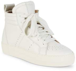 Helmut Lang Women's Enya Hi-Top Leather Sneakers