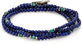 M. Cohen Men's Mixed-Bead Wrap Bracelet