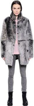 BLK DNM Coat 18 In Reversible Shearling