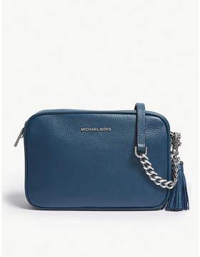 MICHAEL Michael Kors Ginny medium grained leather cross-body bag