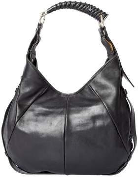 Saint Laurent Mombasa leather bag - BLACK - STYLE